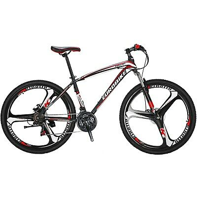 27.5 Mountain Bike 21 Speed Mens Bikes Disc brakes bicycle 3 Spoke Mag Wheels