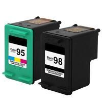 2PK HP 98 95 Ink Cartridge For Officejet 6305 6310 6310v 6310xi 6315 6318