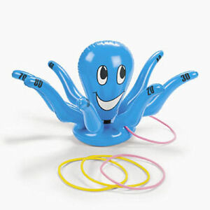 Inflatable Octopus Ring Toss Game