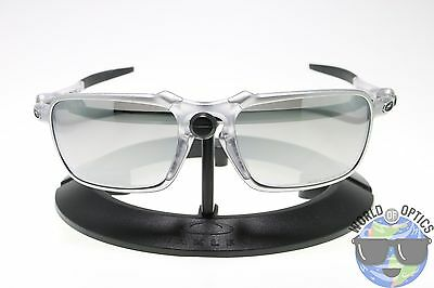 Oakley BADMAN Sunglasses OO6020-05 X Ti | Chrome Iridium Polarized | NWD