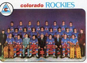 1978-79-TOPPS-HOCKEY-196-COLORADO-ROCKIES-TEAM-CHECKLIST