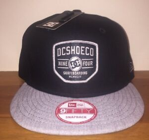 DC Shoes Bloker Hat Cap New Era 9Fifty Snapback Skate Board  34.99 ... 7e74fe1e515