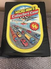 RARE 96 Micro Machines + Car Collector Case!Muscle Cars U.S. Army- Monster Truck