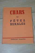 SCOUTISME // CHARS ET FETES RURALES // COLLECTION SEMAILLES // 1948