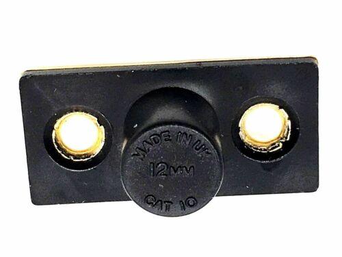 141 Bales Catch 36 mm roller plaque en laiton à Mortaise Loquet /& strike Plaque