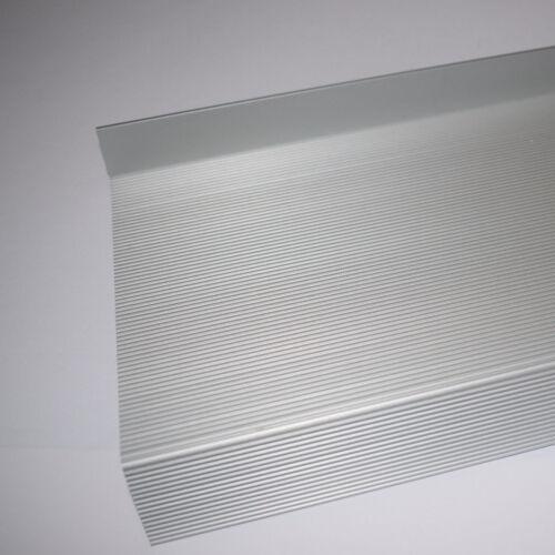 Balkonaustritt Profil 150-340mm Riffelblech Fensterbank außen Aluminium Guntia