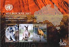 UNO WIEN - 2017 BLOCK 45 - 34. ASIATISCHE AUSSTELLUNG MELBOURNE AUSTRALIA FIAP