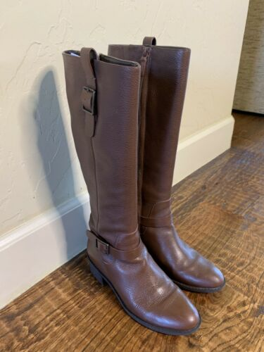 COLE HAAN Women's flat Boots Brown size 7.5M