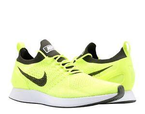 0c610de6fc5e Nike Air Zoom Mariah Flyknit Racer Volt White Men s Running Shoes ...