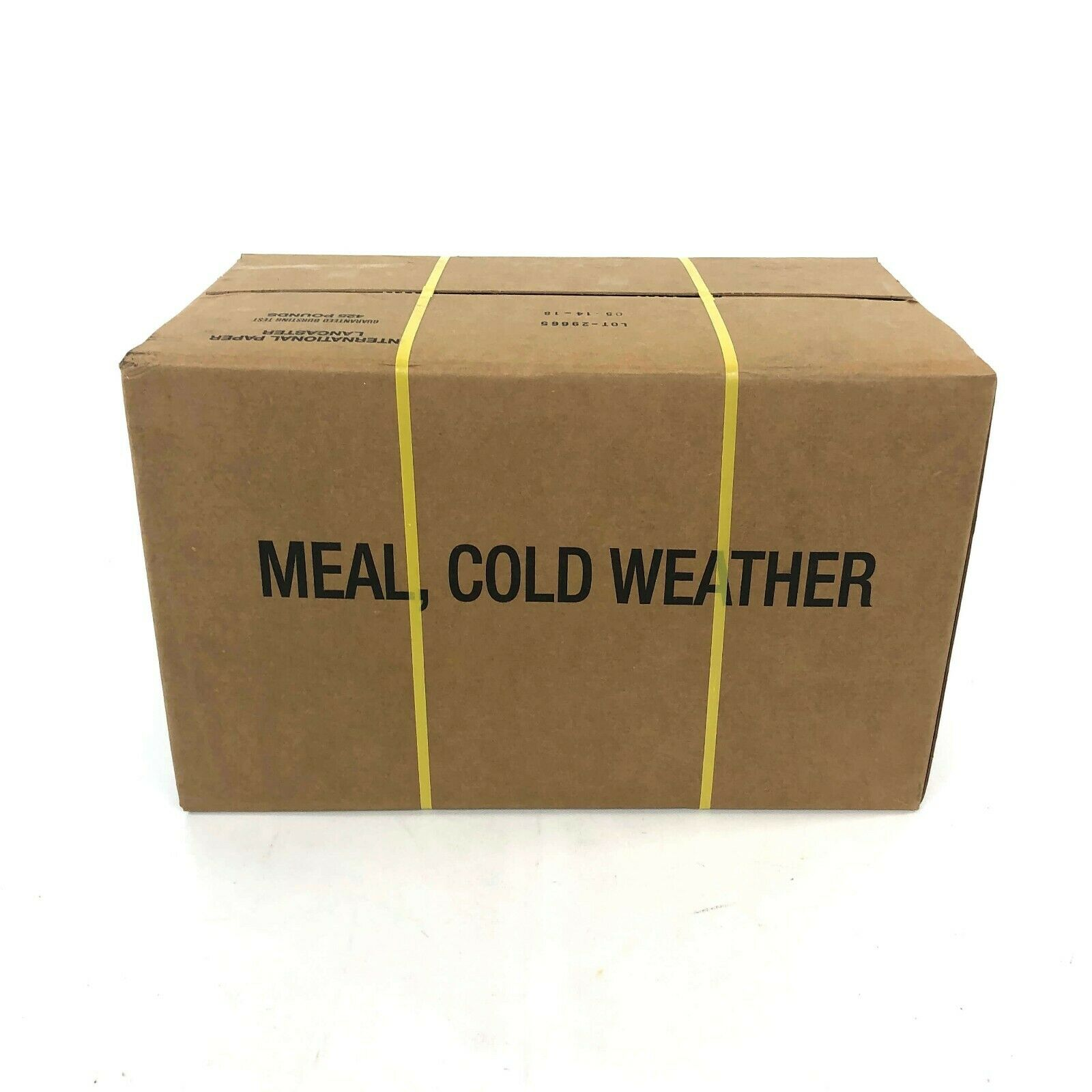 Case of 12 Cold Weather MRE, Army Meals Ready to Eat USGI Freeze Dried Food 2021