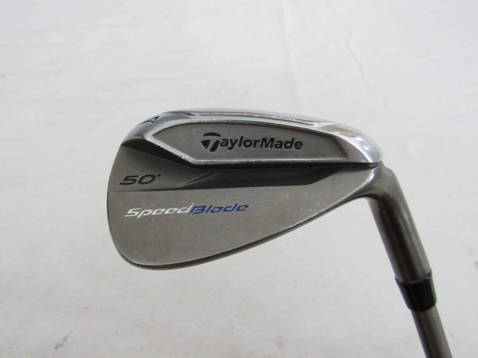 Utiliza  la mano derecha Taylormade SpeedBlade 50 ° Gap una cuña Steelfiber grafito RÍGIDO de la flexión S  Centro comercial profesional integrado en línea.