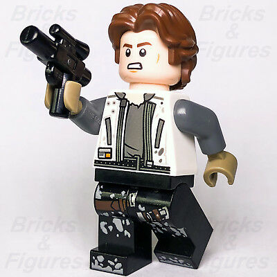 LEGO STAR WARS 75209 HAN SOLO MINIFIGURE CASUAL OUTFIT /& BLASTER