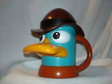 Disney Live Perry the Platypus Phineas and Ferb Mug with Lid