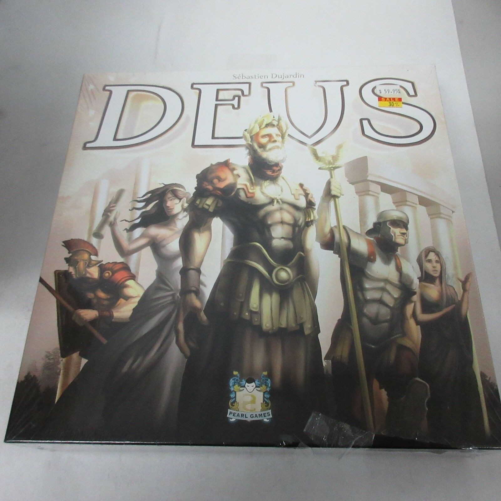 Pearl Games Asmodee DEUS Board Game NEW