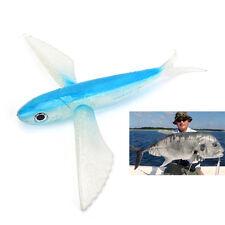 Tiefseefischerei Lure Big Soft Flying Fish Lifelike Swimbaits für Thunfisch Makr