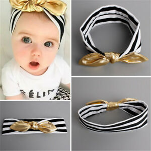 Toddler-Girls-Baby-Kids-Big-Bow-Infant-Headband-JE