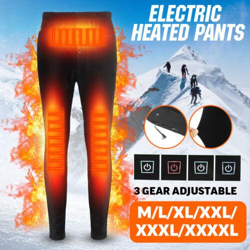 2020 UNISEX Electric Heated Warm Pants USB Heating Elastic Trousers Leggings NEW