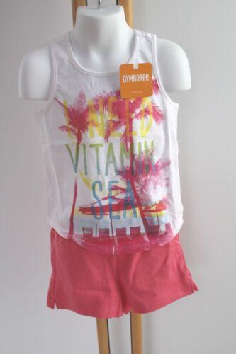 Gymboree Palm Tree Shirt Shorts Tank Mix /& Match Girls Size L 10-12 NWT Set
