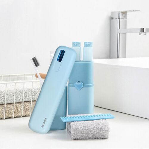 Toothbrush Steriliser Ultraviolet Holder Box Cleaner Disinfection Sanitizer