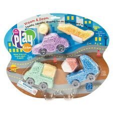 Playfoam Vroom & Zoom Cars - Play Foam New version of Play Dough Putty Play Doh