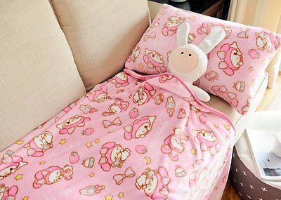 Little Twin Stars coral fleece blanket blankets pillowcase quilt 3 size choise