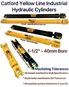 Catford-Yellow-Line-Hydraulic-Clevis-Cylinder-Ram-1-1-2-034-Bore