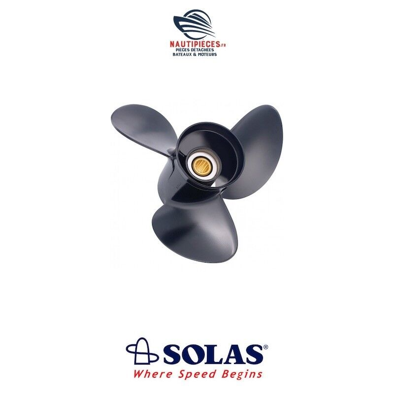 8A 5211-099-10 Propeller SOLAS 9.9 x 10 HONDA MARINE 25 à 30 cv 4T (10 Splines)
