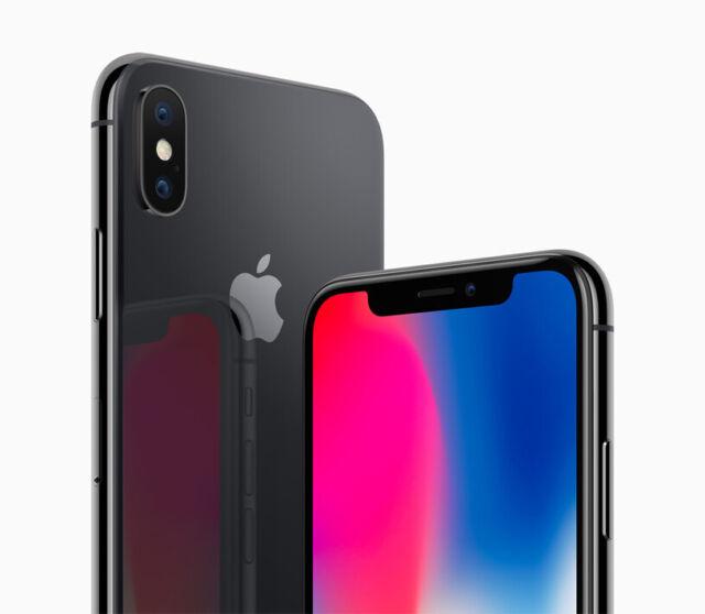 iPhone X 256GBRefurbished - Space Gray (Unlocked)