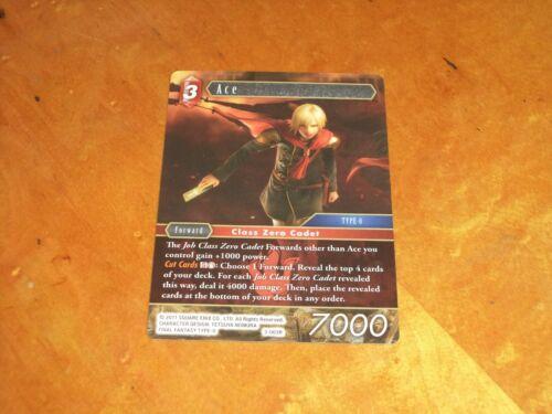 Final Fantasy TCG CCG Opus Exclusive Promo Card NonFoil Ace 3-003R