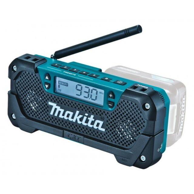 Makita Radio de trabajo MR052 10,8V FM/AM Display LCD