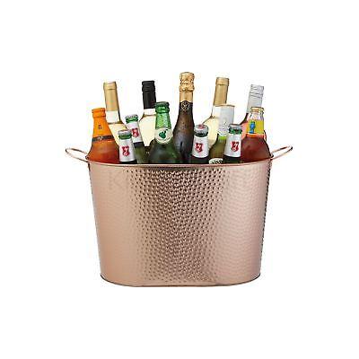 """Dedito Barcraft Martellato Rame Con Finitura Champagne Grande/wine Cooler Secchiello-d Large Champagne/wine Cooler Bucket"""" Data-mtsrclang=""""it-it Mostra Il Titolo Originale Modellazione Duratura"""