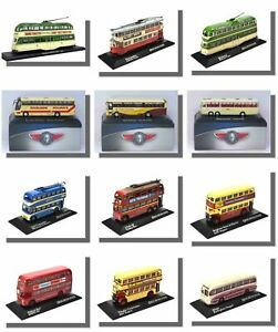 Trolleybuses-Coaches-Trams-Buses-Atlas-1-76-Scale-New