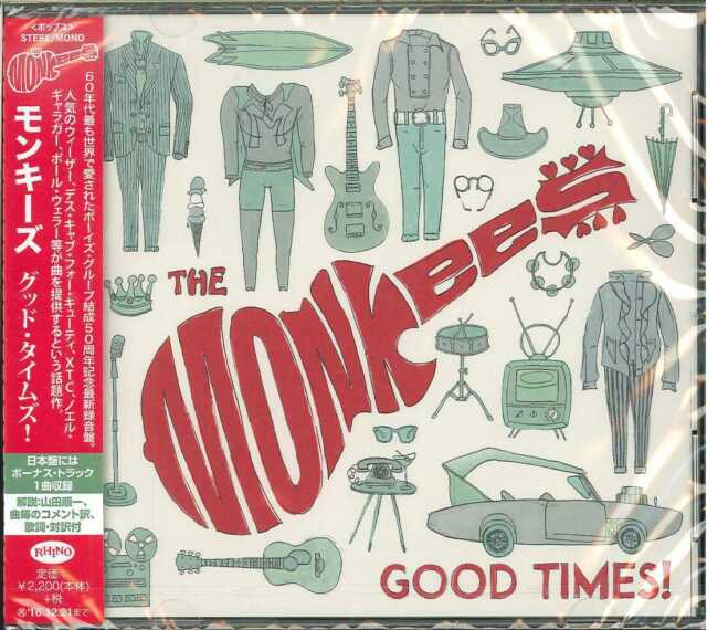 THE MONKEES-GOOD TIMES!-JAPAN CD E78