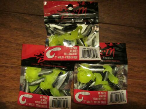 B/'n/'M FISHING PERFECT FOR CAPPIE /& OTHER PAN FISH SET OF 3
