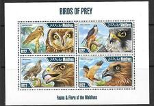 MALDIVE ISLANDS Sc3049 2013 BIRDS OF PREY (NO 1) MNH