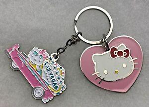 Image is loading Sanrio-Hello-Kitty-Keychain-Pink-Heart-Hello-Kitty- 2c5327aeb037