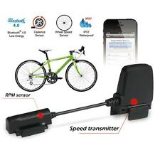 Bluetooth  ANT Fitness Tracker Bike Speed Cadence Sensor Speedometer M8X8