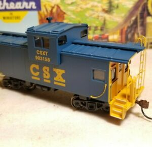 HO-Athearn-CSX-caboose-car-for-train-set-New-RTR-series-new-with-box-rare