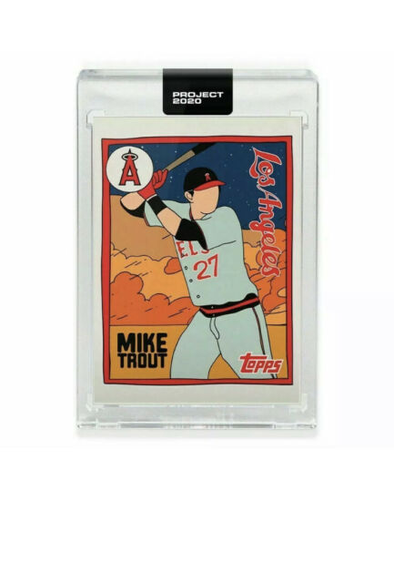 Topps Project 2020 Mike Trout By Fucci SP #63 PRESALE Artist