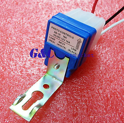 Automatic Auto On Off Street Light Switch Photo Control Sensor for AC 220V M107