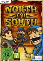 Pc Computer Spiel North & South - The Game Vs Gegen Neunew55