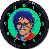 Michael Jackson Andy Warhol Style Thriller Beat It Retro Wall Clock 10