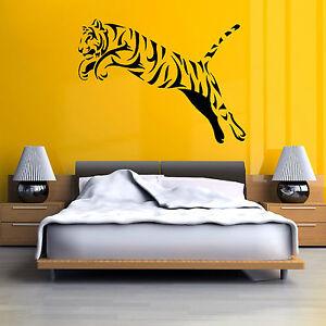 Tigre-salto-Vinilo-Adhesivo-mural