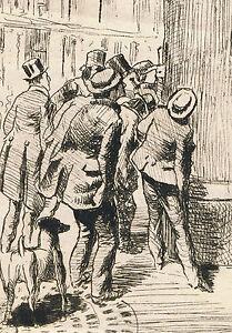 Emile GUILLEMIN (1841-1907) à Alfred DUBUCAND (1828-1894) Vue de Paris FRANCE