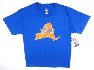 NEW-MAJESTIC-YOUTH-ROYAL-BLUE-NBA-NEW-YORK-KNICKS-6-PORZINGIS-BOYS-T-SHIRT