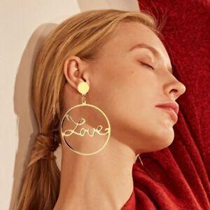 Women-Boho-Geometric-Round-Circle-Dangle-Drop-Ear-Stud-Earrings-Fashion-Jewelry