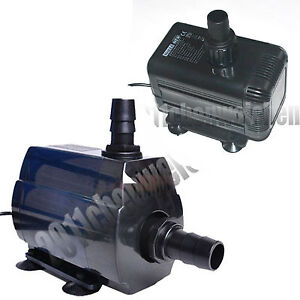 Aquarium Fish Tank Amphibious Inline Immersible Powerful Circulation Water Pump