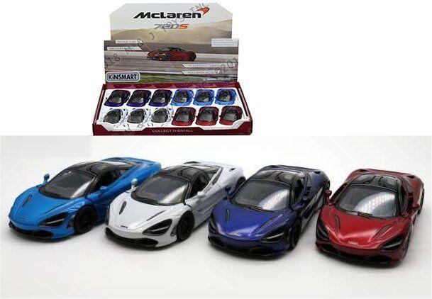 KINSMART 1 36 Affichage McLaren 720 S 12 pieces coffret Diecast voiture KT5403D