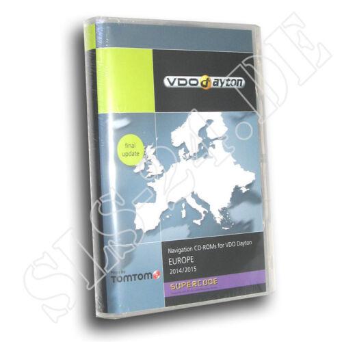 VDO Dayton Europa Supercode CIQ Software 2014 MS 4150 4200 4300 4140 Suzuki Navi