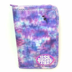 Lisa-Frank-6-Ring-Binder-Planner-Fantastic-Fashions-Purple-Pink-Blue-Tie-Dye